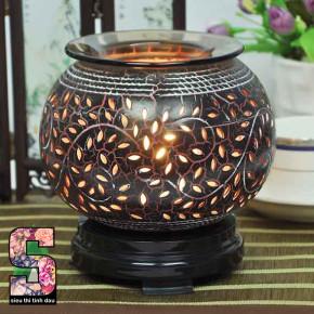 Đèn xông tinh dầu gốm cao cấp SDT0293